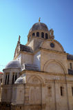 St. James cathedral. Shibenik (Sibenik) Stock Images