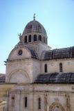 St. James cathedral. Shibenik (Sibenik) Stock Photos