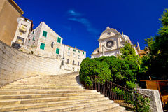 St James cathedral in Sibenik Stock Photography