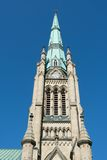 St. James Cathedral Tower with Clock Royalty Free Stock Images