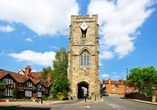St James Chapel, Warwick. Royalty Free Stock Images