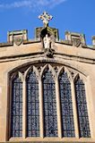 St James Chapel window, Warwick. Royalty Free Stock Images