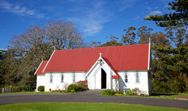 St James Church. St James Anglican Church in the Kotorigo-Kerikeri Basin Heritage Area of North Island, New Zealand. It is the third church built in the area and royalty free stock image