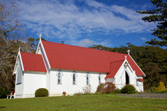 St James Church. St James Anglican Church in the Kotorigo-Kerikeri Basin Heritage Area of North Island, New Zealand. It is the third church built in the area and royalty free stock images