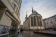 Free St James Church, Also Called Kostel Svateho Jakuba, In The Historical Center. Royalty Free Stock Photo - 183508435