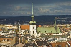 St. James Church, Brno Royalty Free Stock Images