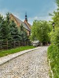 St James Church dans Sandomierz Photographie stock