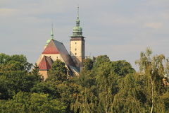 St. James church in Jihlava Royalty Free Stock Images