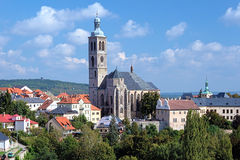 St. James Church in Kutna Hora, Czech Republic Stock Photos