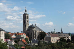 St James Church in Kutna Hora, Czech Republic. Royalty Free Stock Photography