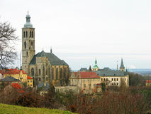 St. James church in Kutna Hora, Czechia Royalty Free Stock Photo