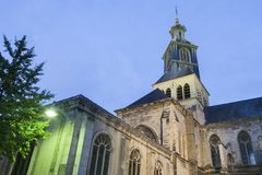St James Church in Reims royalty free stock photo