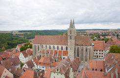 St.James Church of Rothenburg germany Royalty Free Stock Photography
