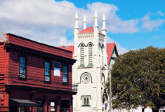 St James Church in Thames. New Zealand Stock Photography