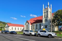 St. James Church in Themse, Neuseeland stockbilder