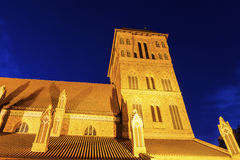 St. James Church in Torun Royalty Free Stock Image