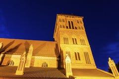 St. James Church in Torun. Torun, Kuyavian-Pomeranian, Poland royalty free stock image