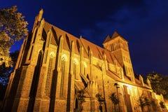 St. James Church in Torun. Torun, Kuyavian-Pomeranian, Poland stock photos