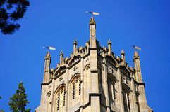 St James church tower, Chipping Campden. Stock Photos
