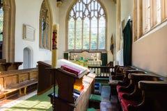 St James The Elder Choir Horton England arkivfoton