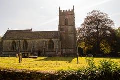 St James The Elder Facade B Horton England royalty-vrije stock afbeelding