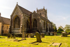 St James The Elder Facade Horton England stock afbeeldingen