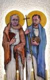 St James en St Philip vector illustratie