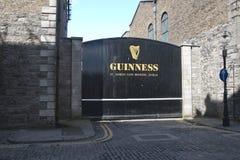 St James Gate, cervecería de Guinness, ciudad de Dublín foto de archivo