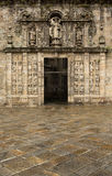 St James Gateway, Santiago Cathedral Stock Image