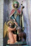 St James il maggior - statua nella cattedrale di Malines fotografie stock libere da diritti