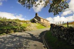 St James kerk, Buttermere, Cumbria Royalty-vrije Stock Afbeeldingen