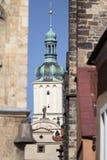 St, James, kościół w Praga Obraz Stock