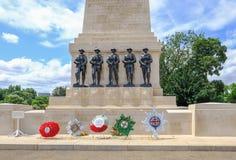 St James, Londres, R-U - juillet, 21, 2017 : Mémorial à premier W Images libres de droits