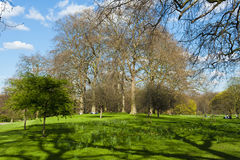 St. James park. In the spring, London Stock Images