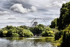 St. James Park Stock Photography