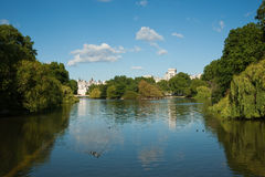 St James Park Royalty Free Stock Images