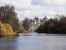 St. James Park And Horse Guard Palace Stock Photography