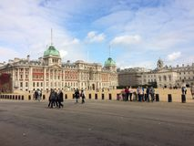 St James Park Horse Guards, stad av Westminster Arkivfoto