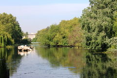 St. James Park in London stock photography