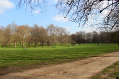 St. James Park Royalty Free Stock Photo