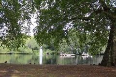 St James parkerar, London Arkivfoto