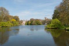 St James parkerar, London Royaltyfri Fotografi
