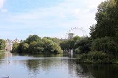 St James parkerar, London, England Arkivbild