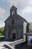 St. James or Pilgrims Church. Roncesvalles. Spain. Stock Images