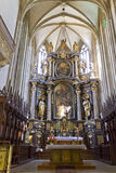 St. James´s church - front altar stock images