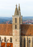 St. James's Church of Rothenburg ob der Tauber Royalty Free Stock Photos
