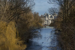 St James's Park and Horse Guards Parade - London - England Stock Photography