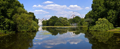 St. James's Park in London Royalty Free Stock Photo