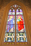 ST. James and ST. John Stained glass Royalty Free Stock Image