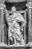 St James Statuary - Rome royaltyfri fotografi